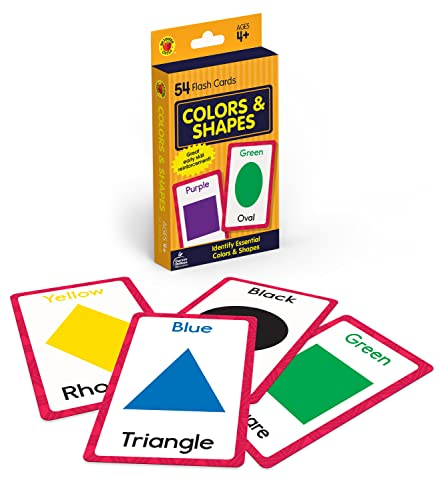 Colors and Shapes Flash Cards By Brighter Child