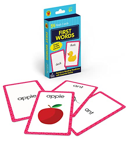 First Words Flash Cards By Brighter Child