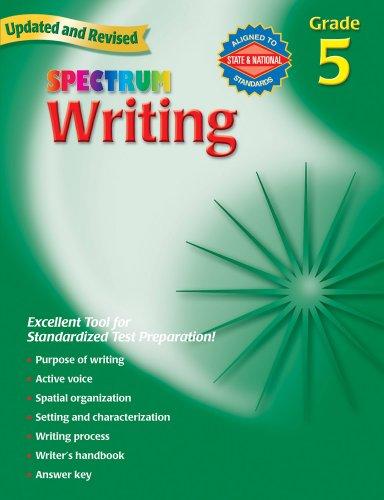 Writing, Grade 5 By Spectrum