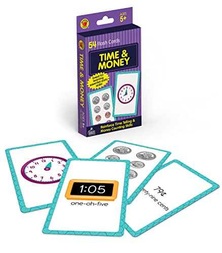Time and Money Flash Cards By Brighter Child