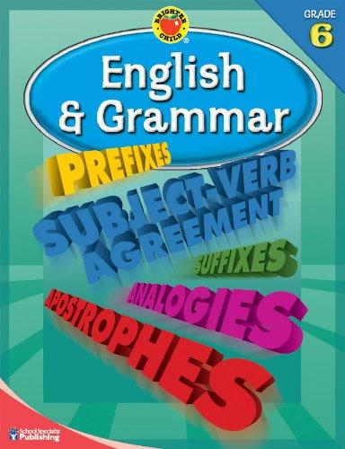 English & Grammar, Grade 6 By Brighter Child