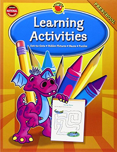 Learning Activities, Grade Preschool By Brighter Child