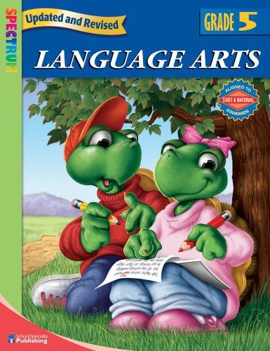 Language Arts, Grade 5 By Spectrum