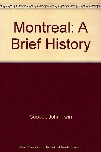 Montreal By John Irwin Cooper