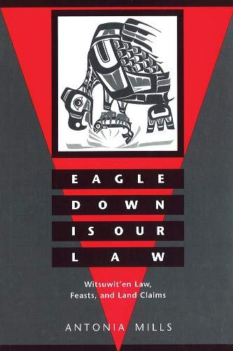 Eagle Down Is Our Law By Antonia Mills