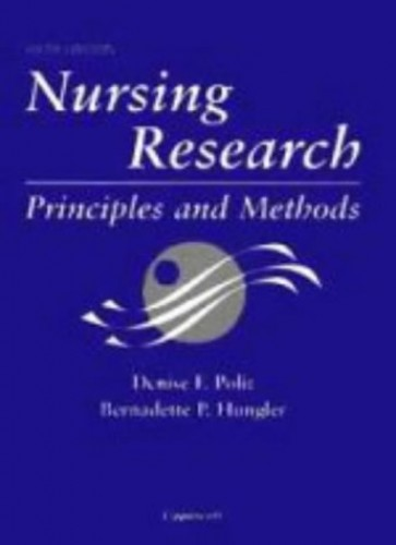 Nursing Research By Denise Polit-O'Hara