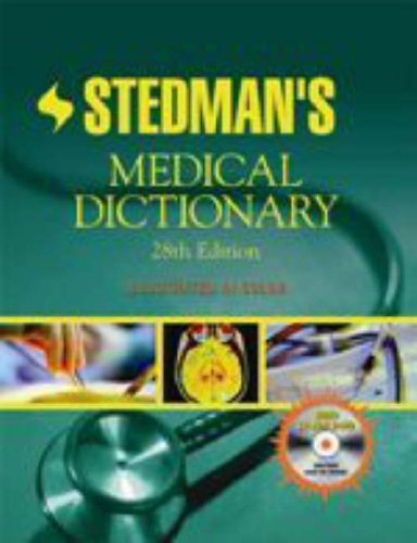 Stedman's Medical Dictionary by Stedman