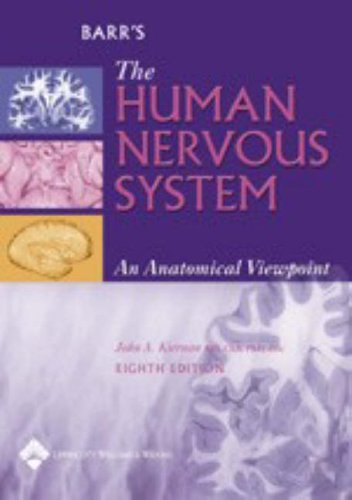 Barr's the Human Nervous System By Murray L. Barr