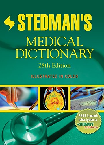 Stedman's Medical Dictionary By Created by Lippincott Williams & Wilkins