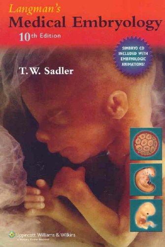 Langman's Medical Embryology By Thomas W. Sadler