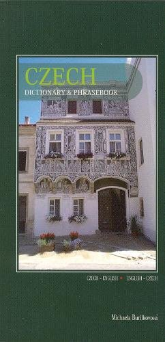 Czech-English / English-Czech Dictionary & Phrasebook By Michaela Burilkovova