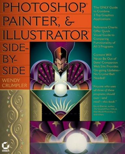 Photoshop, Illustrator and Painter Side-by-side By Wendy Crumpler