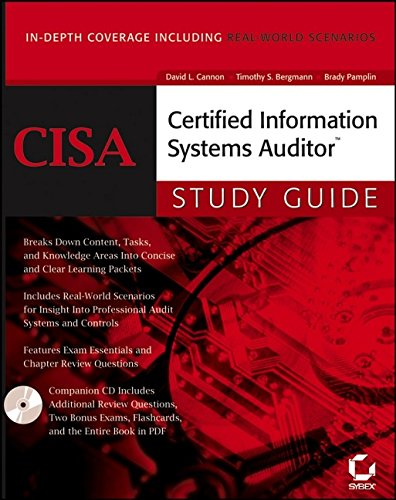 CISA: Certified Information Systems Auditor Study Guide By David L. Cannon