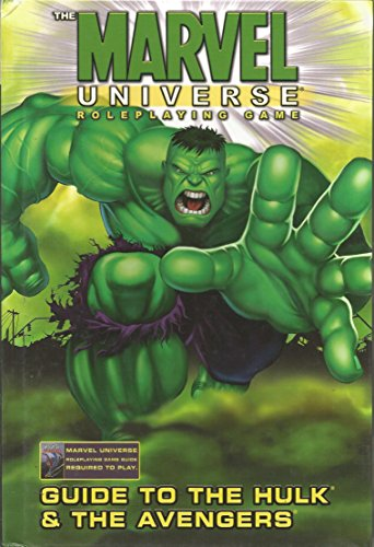 Marvel Universe RPG Guide To Hulk & Avengers HC (Marvel Role Playing Game) Created by Marvel Entertainment Group