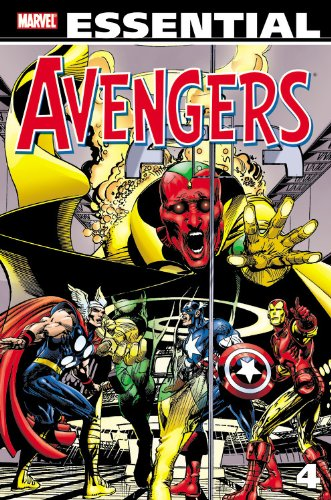 Essential Avengers -volume 4 (revised Edition) By Roy Thomas