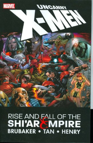 Uncanny X-men: Rise & Fall Of The Shi'ar Empire By Illustrated by Billy Tan