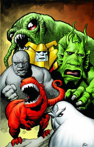 Marvel Monsters By Keith Giffen