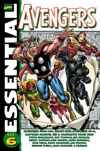 Essential Avengers Vol.6 By Text by Roy Thomas