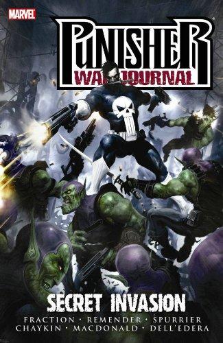 Punisher War Journal Vol.5: Secret Invasion By Howard Chaykin