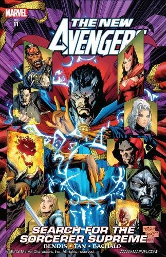 New Avengers Vol.11: Search For The Sorcerer Supreme By Brian Michael Bendis