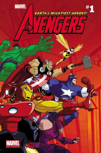 Marvel Universe Avengers: Earth's Mightiest Heroes Comic Readers -vol. 1 By Marvel Comics