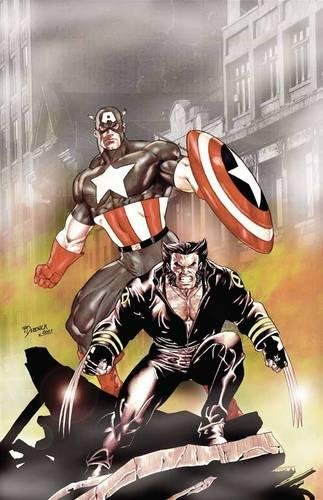 Wolverine & Captain America By Tom DeFalco