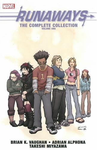Runaways: The Complete Collection Volume 1 By By (artist) Adrian Alphona