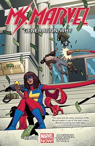 Ms. Marvel Volume 2: Generation Why By Adrian Alphona