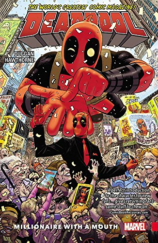 Deadpool: World's Greatest Vol. 1 - Millionaire With A Mouth By By (artist) Mike Hawthorne