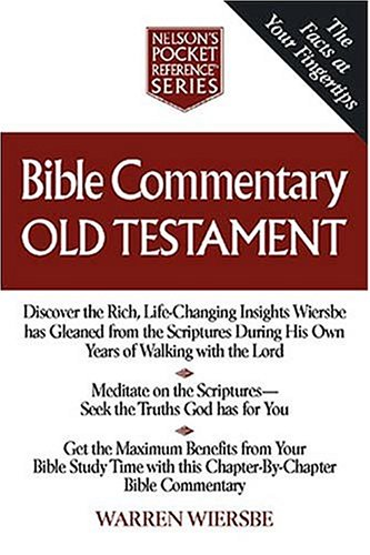 Bible Commentary - Old Testament By Nelson