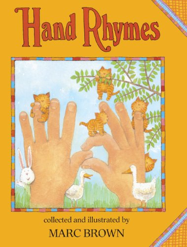 Hand Rhymes By Marc Tolon Brown
