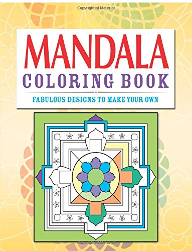 Mandala Coloring Book By Clare Goodwin