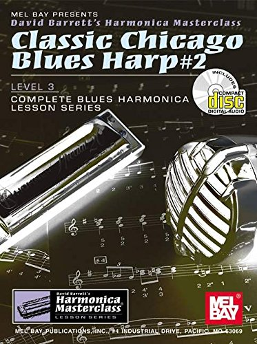 Classic Chicago Blues Harp #2 By David Barrett