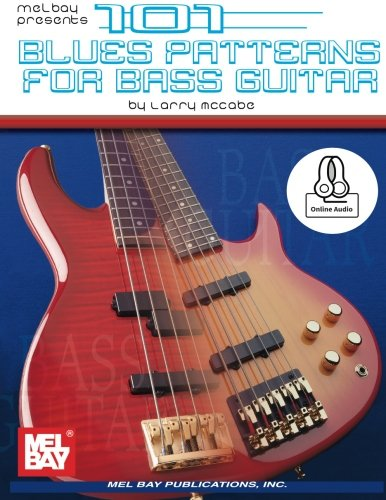 101 Blues Patterns for Bass Guitar Book By Larry McCabe