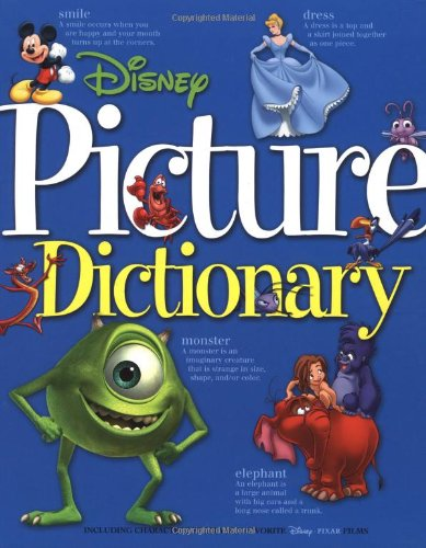 Disney Picture Dictionary By Disney Book Group