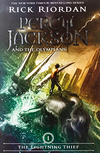 Percy Jackson and the Olympians, Book One the Lightning Thief By Rick Riordan