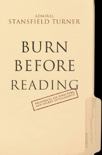 Burn Before Reading By S. Turner