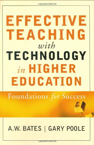 Effective Teaching with Technology in Higher Education By Tony Bates