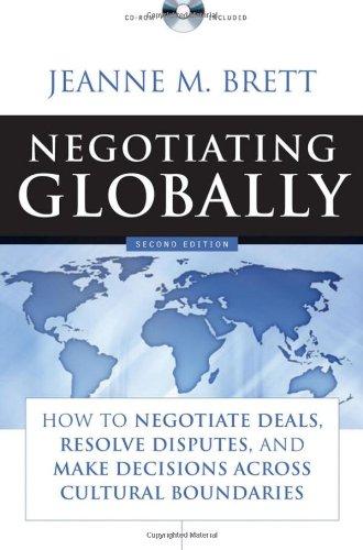 Negotiating Globally By Jeanne M. Brett