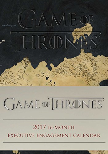 Game of Thrones 2016-2017 16-Month Executive Engagement Calendar By Hbo