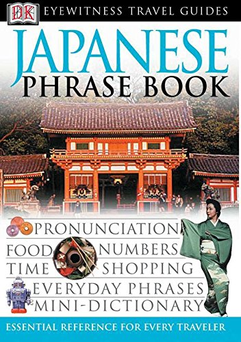 Japanese Phrase Book By DK