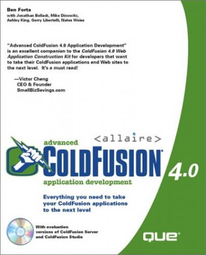 Advanced Cold Fusion 4: Application Development by Ben Forta
