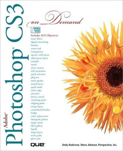 Adobe Photoshop CS3 On Demand By Andy Anderson