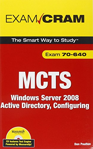 MCTS 70-640 Exam Cram By Don Poulton