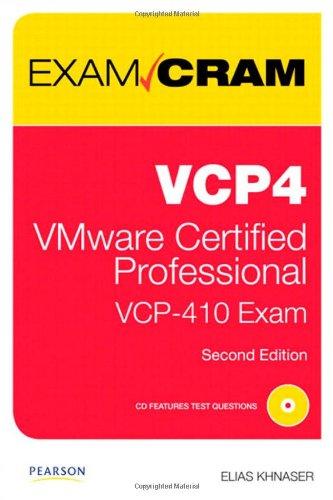 VCP4 Exam Cram By Elias Khnaser