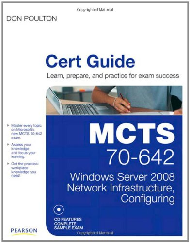MCTS 70-642 Cert Guide By Don Poulton