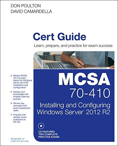 MCSA 70-410 Cert Guide R2 By Don Poulton