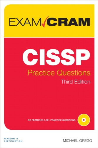 CISSP Practice Questions Exam Cram By Michael Gregg