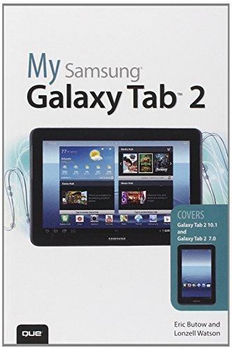 My Samsung Galaxy Tab 2 By Eric Butow
