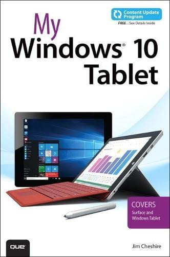 My Windows 10 Tablet (includes Content Update Program) By Jim Cheshire
